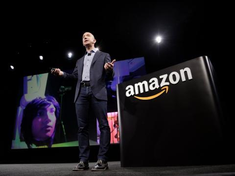 Jeff Bezos, fundador y CEO de Amazon.