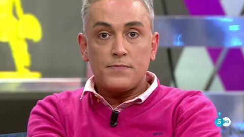 Kiko Hernández en Sálvame (Telecinco)