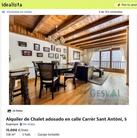 Lleida – 15.000 euros