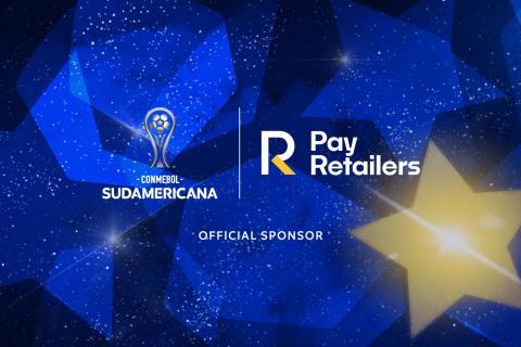 logos payRetailers + CONMEBOL