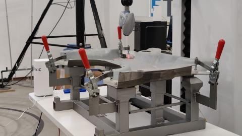 Un dispositivo de medición precisa de Innovalia en 5TONIC.