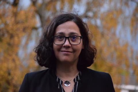 Montserrat Bárcena, doctora en química y microscopista.