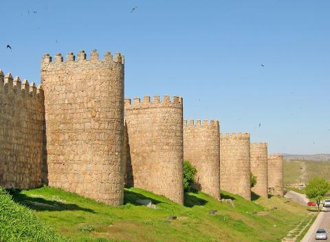 La Muralla, Ávila.