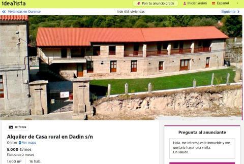 Ourense– 5.000 euros