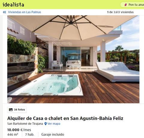 Las Palmas – 10000 euros