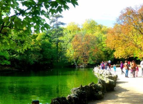 El Parque Campo Grande, Valladolid.
