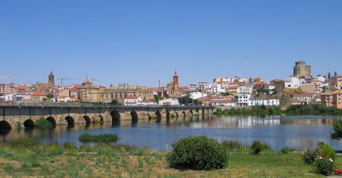 Paseo del Tormes, Salamanca.