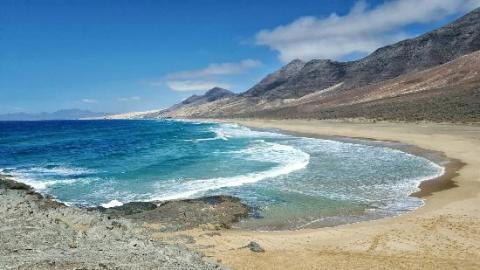 Playa del Cofete, Fuerteventura.