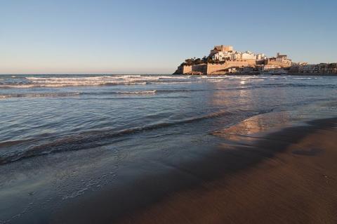 Playa Norte, Peñíscola.