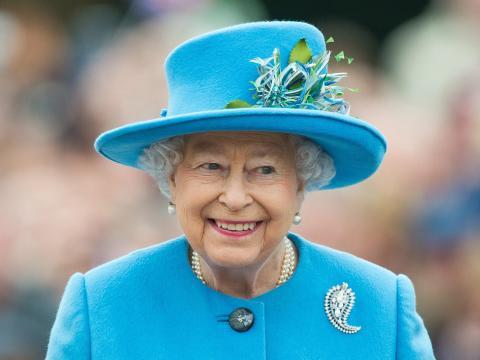 La reina Isabel fotografiada en 2016.