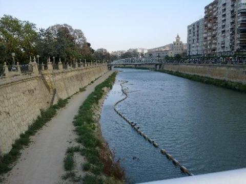 El Río Segura, Murcia.
