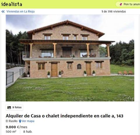 La Rioja - 9000 euros