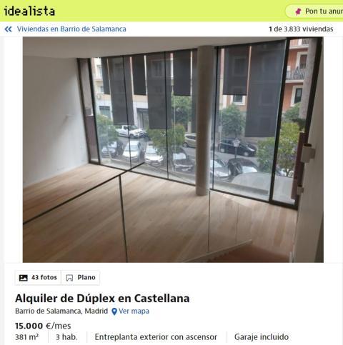 Salamanca– 15.000 euros