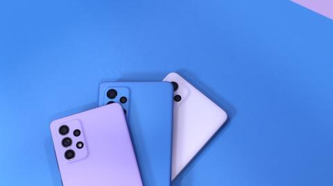Samsung Galaxy A52 y A72
