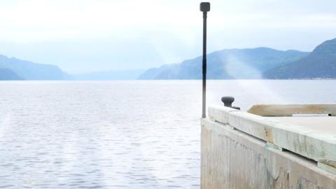 El sensor que utiliza Divirod para captar los rebotes de las señales de satélite en el agua.
