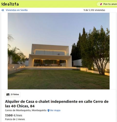 Sevilla – 7.500 euros