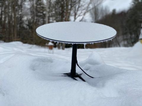 """Starlink ha incorporado el """"modo de derretimiento de la nieve"""", pero no esperaba que funcionara tan bien"""