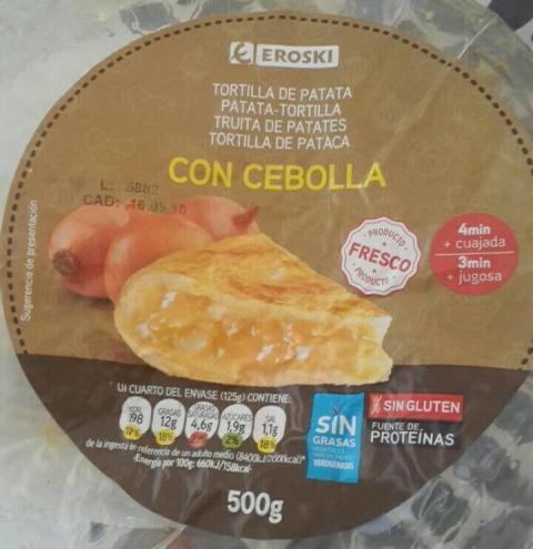 Tortilla Eroski