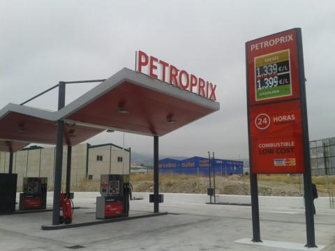 Tres gasolineras de Petroprix y una de Plenoil (todas en Jaén) son las más baratas de España (Petroprix)