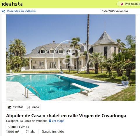 Valencia 15.000 euros