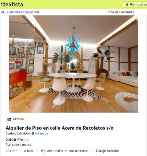 Valladolid – 2.900 euros