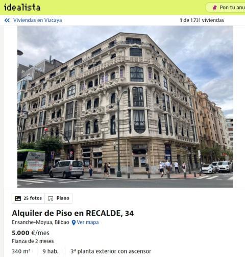 Vizcaya – 5.000 euros