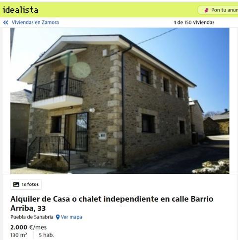 Zamora – 2.000 euros