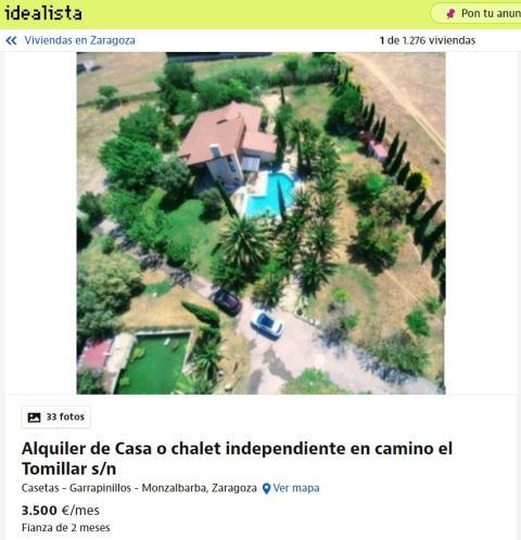 Zaragoza – 3.500 euros