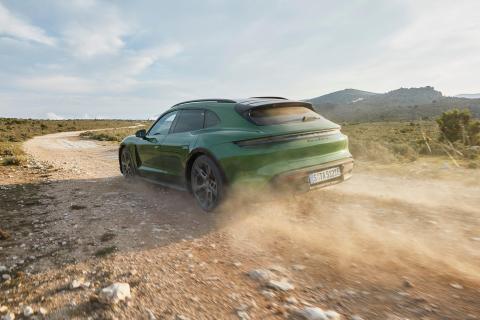 Porsche Taycan Cross Turismo de 2021.