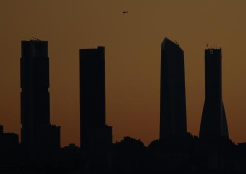 Las 4 torres madrileñas