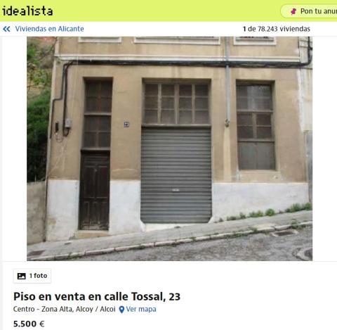 Alicante 5500 euros