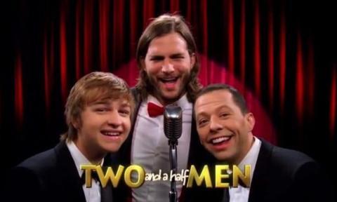 Ashton Kutcher dos hombres y medio