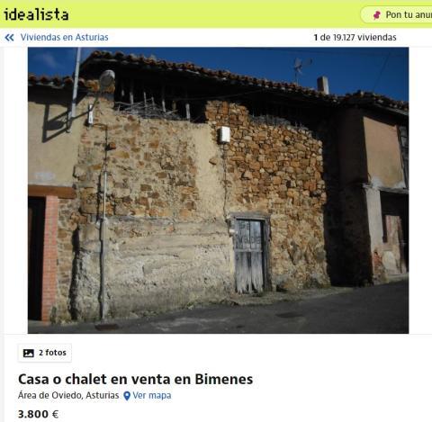 Asturias 3800 euros