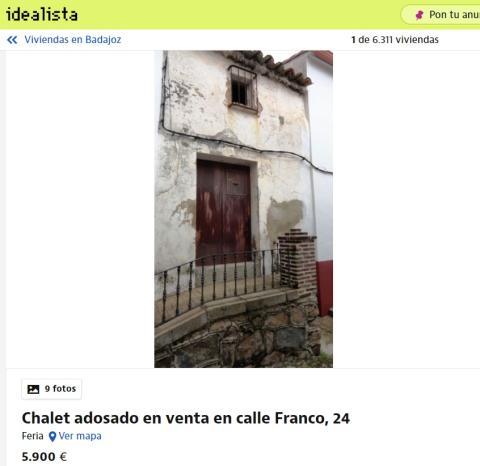 Badajoz 5900 euros