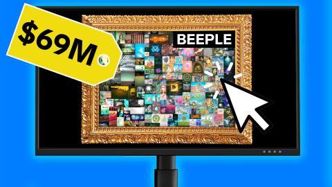 Récord de ventas de Beeple.