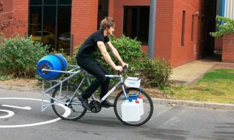 Bicicleta lavadora