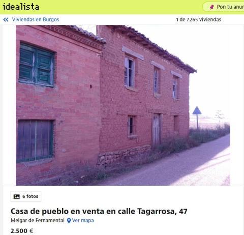 Burgos 2500 euros