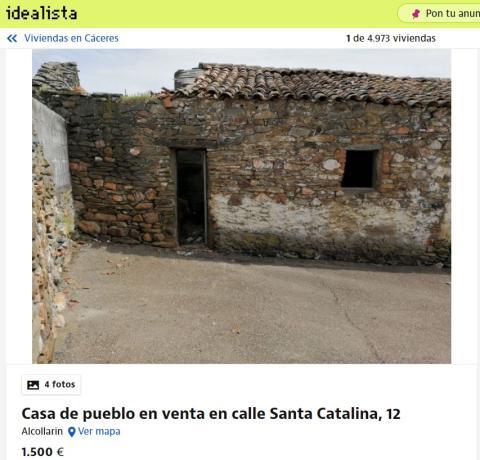 Cáceres 1500 euros