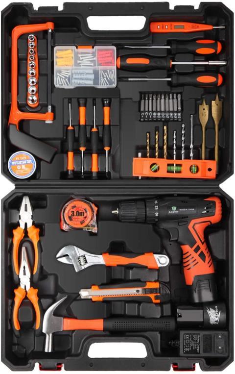 caja herramientas LETTON con taladro