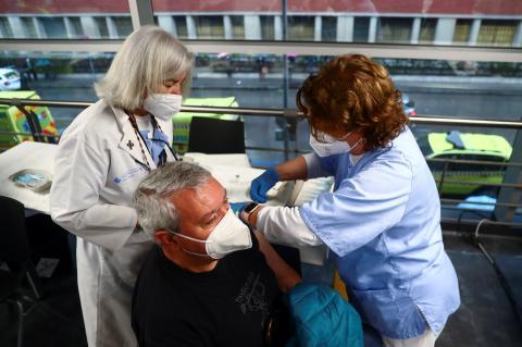 Campaña de vacunación en España