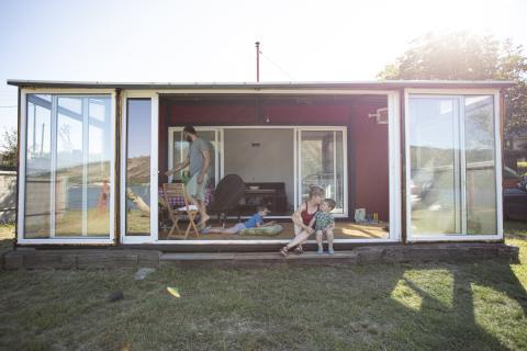 Las casas prefabricas móviles son habituales en los campings (gettyimages)