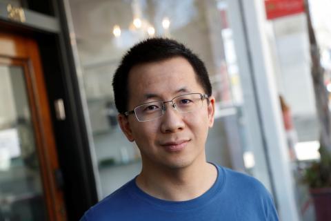 El CEO de Bytedance, Yiming Zhang (Reuters)