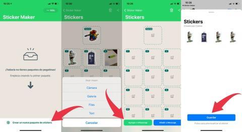 Cómo crear stickers animados en WhatsApp