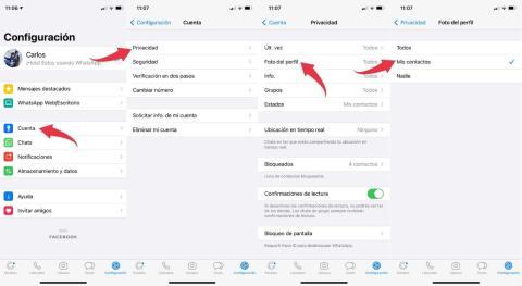 Cómo ocultar tu foto de perfil en WhatsApp a desconocidos