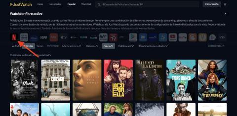 Cómo saber que series o películas tiene Netflix, HBO, Prime Video, Disney Plus o Movistar Plus en 4K sin entrar en la aplicación