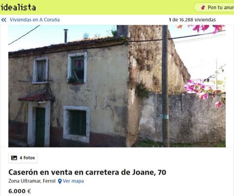La Coruña 6000 euros