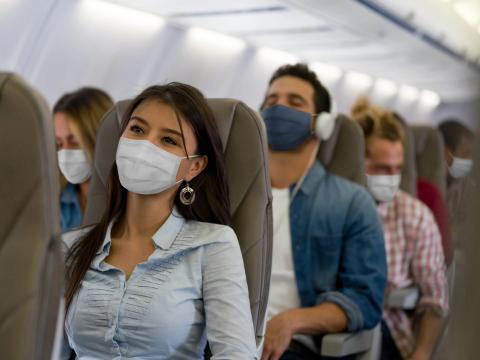 Los aviones filtran el aire de forma rápida y eficaz.