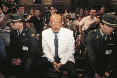'El Dioni', durante el juicio.