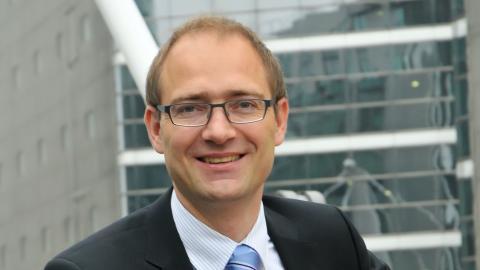 Dirk Marzluf, responsable global de Tecnología y Operaciones de Santander.