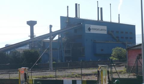 Fábrica de Ferroatlántica en Boo de Guarnizo (Cantabria)